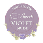 Featured On Sweet Violet Bride 200x200